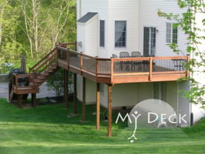 Why Choose Composite or Aluminum Deck Railing Systems 2